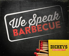 Dickey's Barbecue speaks the language of barbecue #WeSpeakBarbecue (PRNewsFoto/Dickey's Barbecue Restaurants)