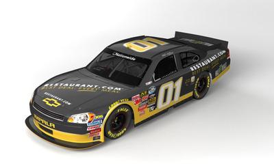 JD Motorsports #01 Restaurant.com Chevrolet.  (PRNewsFoto/Restaurant.com)