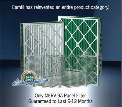 Pleated Panel Air Filters 30/30(R) Dual 9