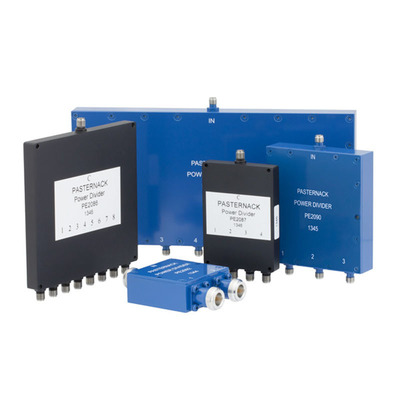 Multi-Octave Wilkinson Power Dividers.  (PRNewsFoto/Pasternack Enterprises, Inc.)