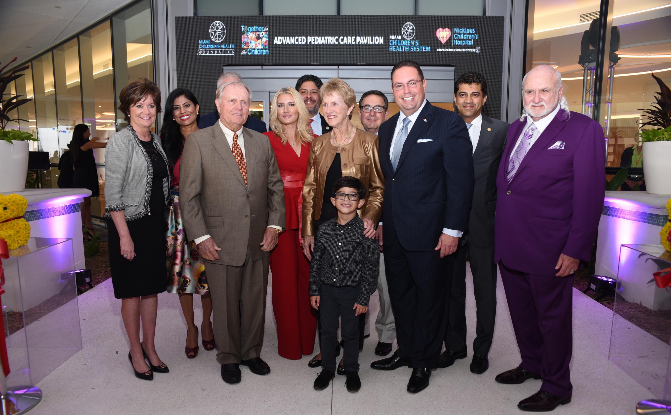 Jack & Barbara Nicklaus Celebrate Success of