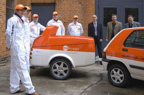 The New ebuggy e-Mobility Concept Allows Electric Cars to Travel Any Distance