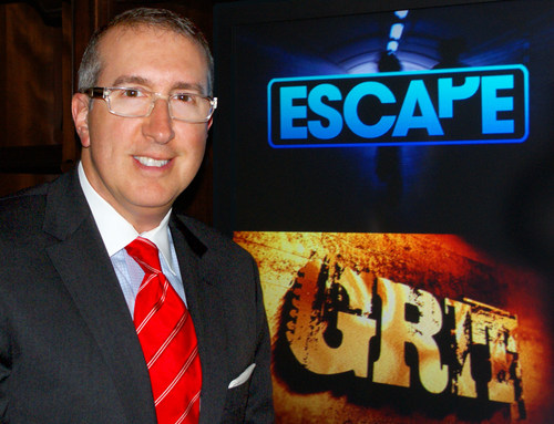Jonathan Katz, President and CEO of Katz Broadcasting, which is launching two new broadcast television networks - Escape (For Women) and Grit (Targeting Men) - on Monday, August 18 at 12:00 Noon (Eastern Time). (PRNewsFoto/Katz Broadcasting)