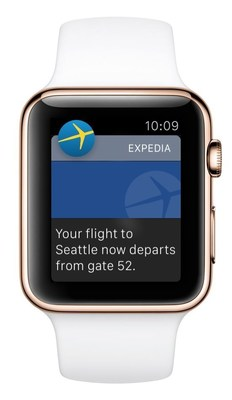 Expedia App Now Available on Apple Watch