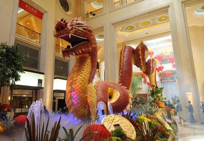 Las Vegas Celebrates Chinese New Year! Book now at LasVegas.com.  (PRNewsFoto/The Las Vegas Convention and Visitors Authority (LVCVA))