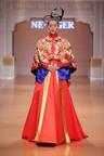 "Liu Wen, as the world super model, attended NE.TIGER 2014 ""Great Yuan"" Haute Couture Fashion Show.  (PRNewsFoto/NE.TIGER)"