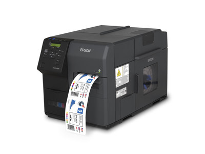 Epson ColorWorks C7500G with Wasatch SoftRIP software provides spot color matching and cost efficient, on-demand, full-color labels