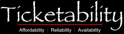 Reliability, Affordability, and Availability at Ticketability.com.  (PRNewsFoto/Ticketability, LLC)