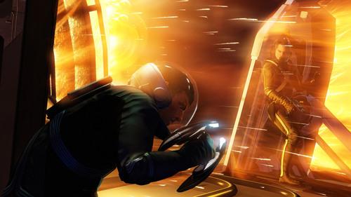 Screen shot from Star Trek videogame.  (PRNewsFoto/Paramount Digital Entertainment)