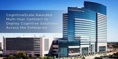 CognitiveScale Announces Multi-Year Enterprise Contract for Cognitive Computing