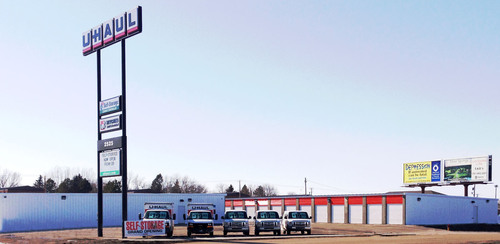 U-Haul Company of Fargo Expands Operations with Newly Constructed Self-Storage Facility in Minot.  (PRNewsFoto/U-Haul)