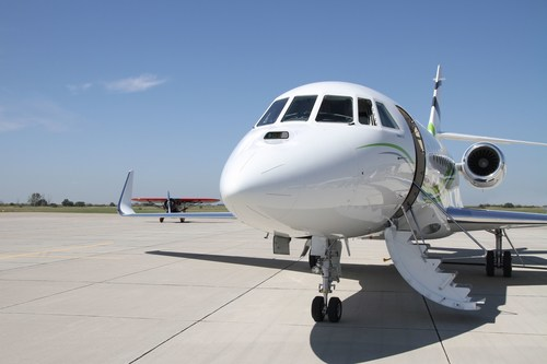 Dassault Aviation introduced its proprietary Combined Vision System at NBAA's Business Aviation Convention ...