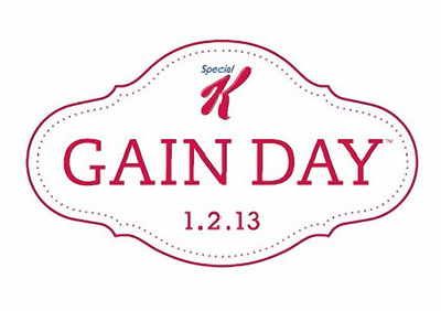 Special K Gain Day, January 2, 2013