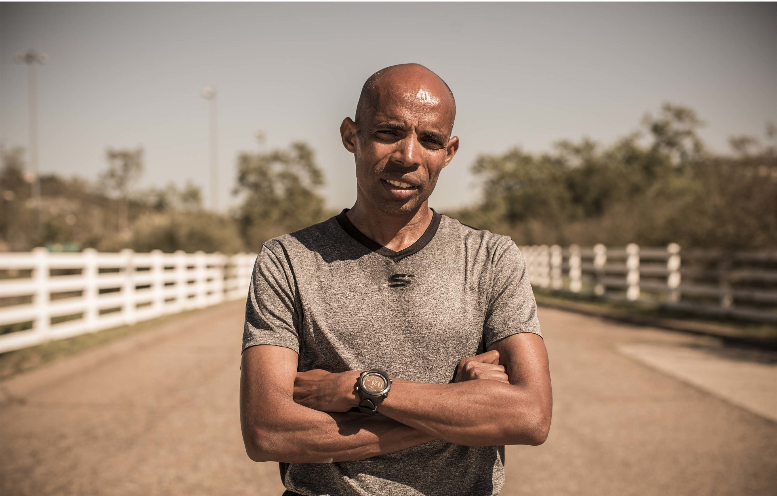 Meb Keflezighi, 2014 Winner of the Boston marathon