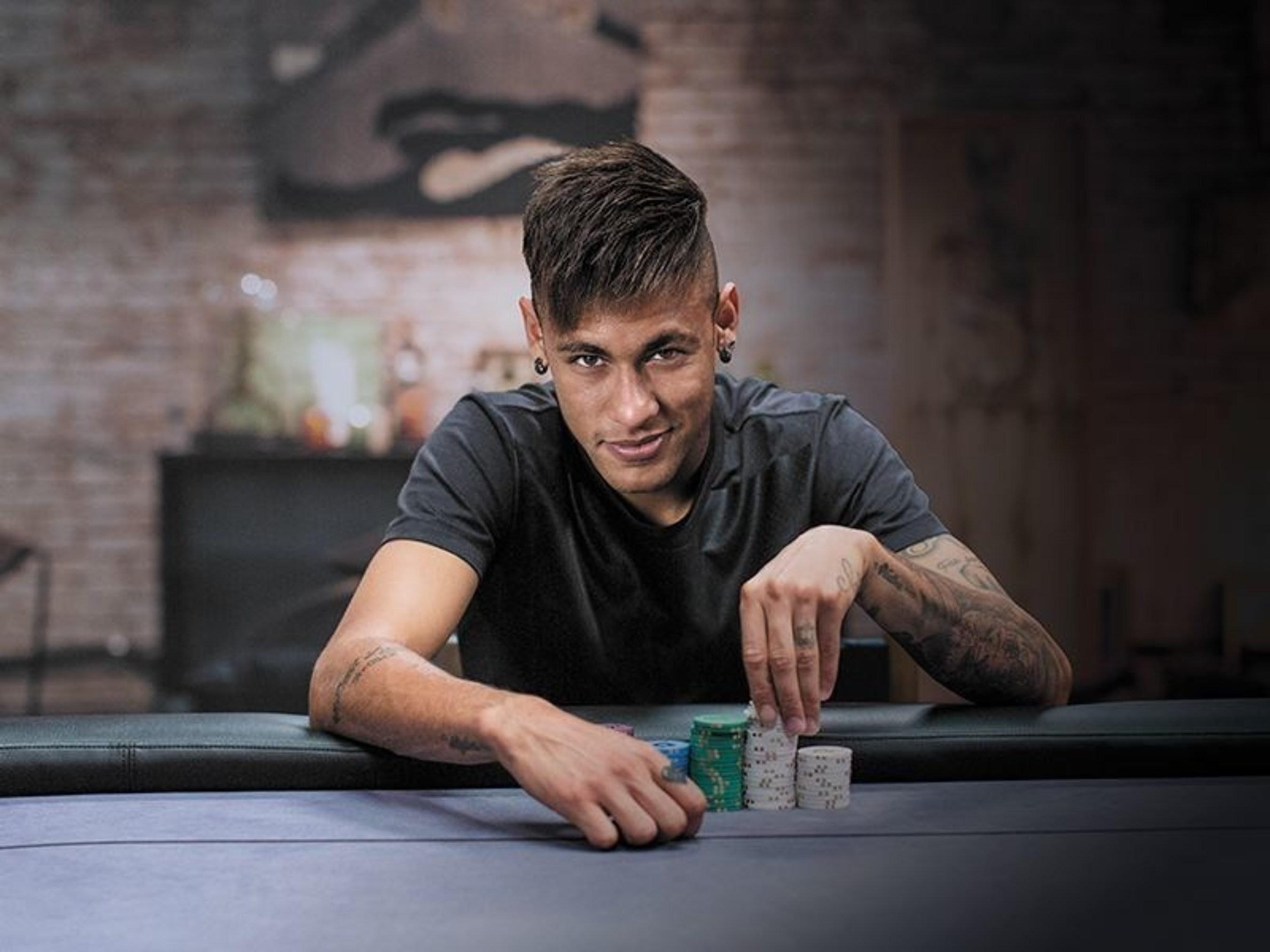 PokerStars lança campanha exclusiva no Facebook com Cristiano Ronaldo e Neymar Jr