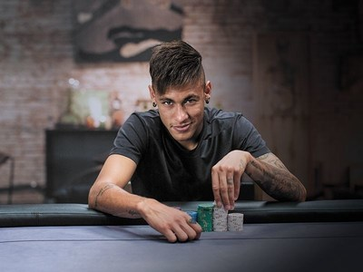 Neymar Jr - PokerStars SportStar (PRNewsFoto/PokerStars)