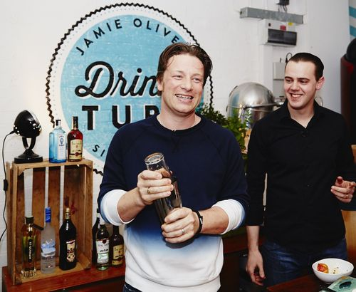 Jamie Oliver and Bacardi Limited announce partnership (PRNewsFoto/Bacardi Limited)
