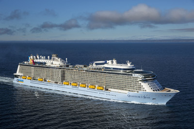 The world's first smartship Quantum of the Seas is set to arrive into New York Harbor on Nov. 10, 2014, and Royal Caribbean is counting down the days until her big debut.