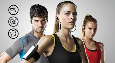 Intelligent audio at the heart of Jabra Sports audio range.