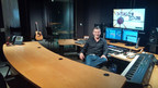 Award-winning Composer Bruce Aronson joins PRG POST. Aronson, here in PRG POST's Music 1 studio, will be able to offer clients original music compositions.