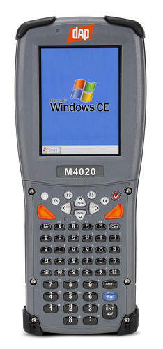 DAP Technologies' new M4020 handheld computer with full keyboard.  (PRNewsFoto/DAP Technologies)
