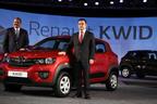 Carlos Ghosn, Chairman & CEO, Groupe Renault & Sumit Sawhney, CEO Renault India.  (PRNewsFoto/Renault)
