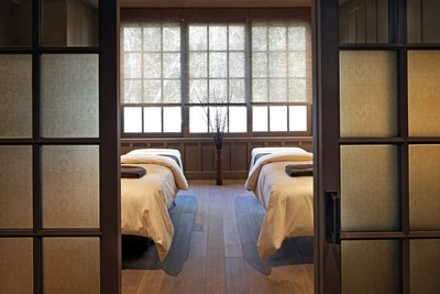 A Couple's Treatment Suite in the Meadowood Spa at Meadowood Napa Valley