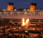 The Queen Mary's Dark Harbor premieres Oct. 1 and runs 18 nights through Oct. 31.  (PRNewsFoto/Queen Mary)