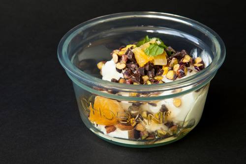 Chobani SoHo, a one-of-a kind Mediterranean yogurt bar located in New York City's SoHo neighborhood, will ...