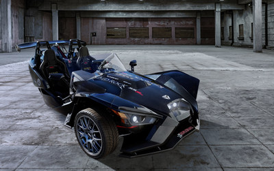 Polaris debuts the 2017 Slingshot SS-R Kid Rock concept at the SEMA Show in Las Vegas, playing tribute to Detroit's bad-boy rocker.