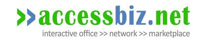 AccessBiz.net logo.  (PRNewsFoto/C8)