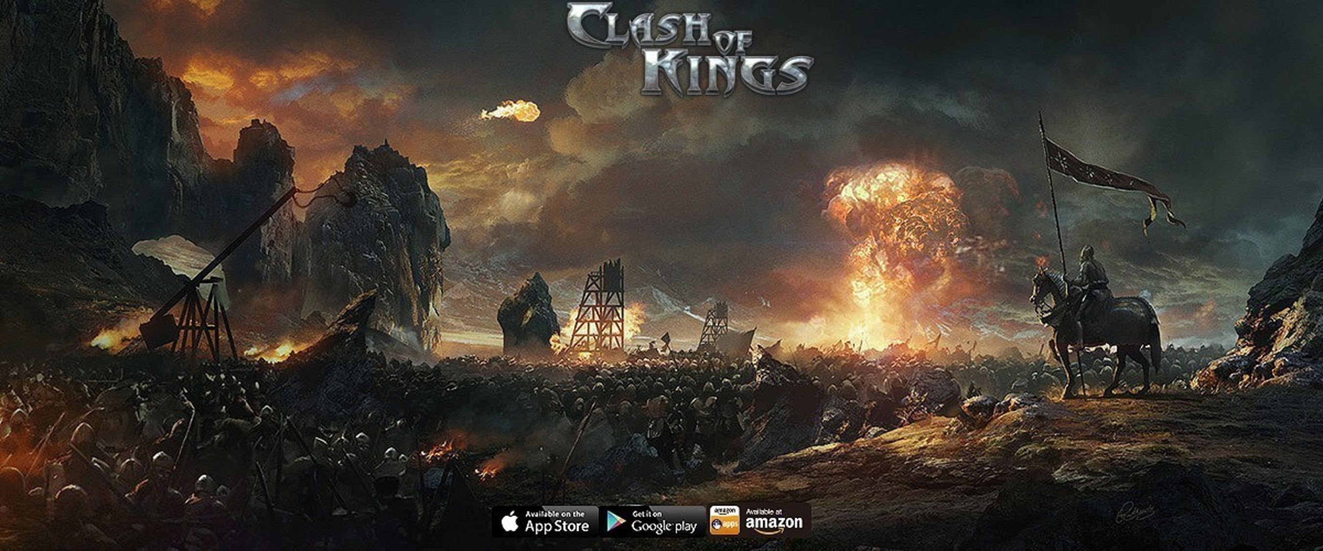 Clash of Kings is celebrating 100 million downloads since its release in August last year