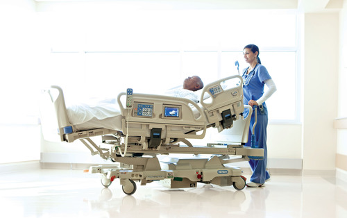 New Progressa Bed System From Hill Rom Helps Treat And Prevent Complications For Icu Patients Eases Caregiving For Critical Care Staff