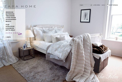 Zara Home Debuts with E-Commerce in the US Introducing www.zarahome.com.  (PRNewsFoto/Inditex Group)