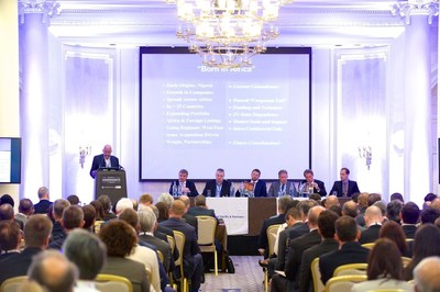 The 14th Africa Independents Forum 2016, held 25-26th May is being held in London at the Waldorf Hilton, and hosted by Global Pacific & Partners / ITE Group Plc JV. (PRNewsFoto/Global Pacific & Partners)
