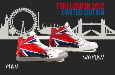 Alberto Guardiani Celebrates London's Big Year in 2012 with a Limited Edition Toki Sneaker