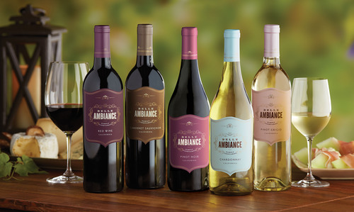 New Entry Belle Ambiance Targets Millennials with Wine Collection Debut. (PRNewsFoto/Delicato Family Vineyards) (PRNewsFoto/DELICATO FAMILY VINEYARDS)
