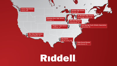 Riddell Announces Ten Youth and High School Football Teams to Receive 2016 Smarter Football Grant