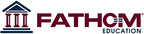 Fathom Education Marketing Logo.  (PRNewsFoto/Fathom)
