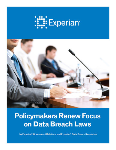 To access the full complimentary white paper, visit http://bit.ly/Experian2014LegislativeOutlook ...