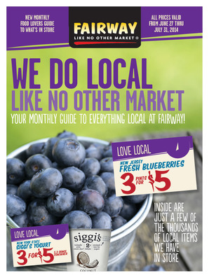 We Do Local Like No Other Market. (PRNewsFoto/Fairway Market)