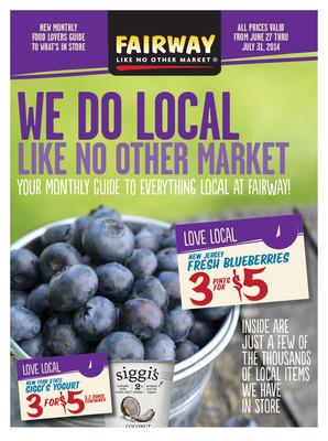 We Do Local Like No Other Market. (PRNewsFoto/Fairway Market)