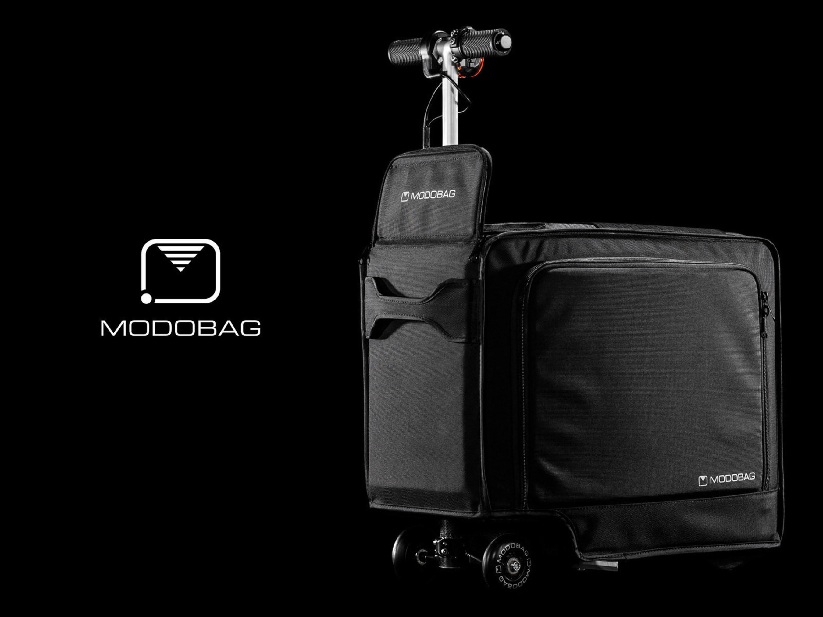 Modobag Is The World S First Motorized Smart And Connected Carry On Key Features Of Bag Include