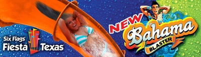 World's Steepest Waterslide, Bahama Blaster Now Open at Six Flags Fiesta Texas