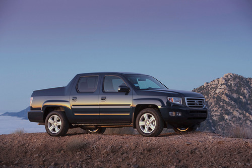 The 2013 Honda Ridgeline, now with a rearview camera as standard equipment.  (PRNewsFoto/Honda)