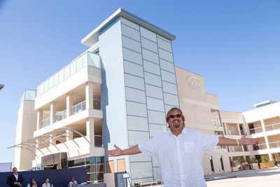 More than 2,000 people attended the grand opening celebration of the new Shade Hotel in Redondo Beach. Pictured here is owner of Shade Hotel, Michael Zislis.