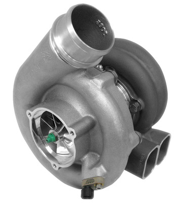 BorgWarner's EFR (Engineered for Racing) turbochargers have established a reputation of powerful performance and durability over the 212,000 miles accumulated during practice, test, qualifying and race events in 2012 IZOD IndyCar Series.  (PRNewsFoto/BorgWarner Inc.)