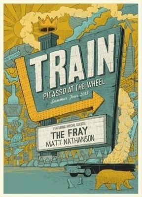 Train Announces Picasso At The Wheel Tour