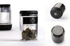 Greenskeeper by Santa Cruz Bakeware stores up to five varieties of cannabis in an airtight, moisture controlled and UV protected environment.
