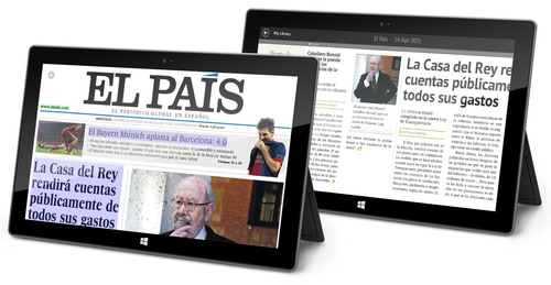 Award-winning PressReader powers ND's Windows 8 App Builder Program.  (PRNewsFoto/NewspaperDirect)